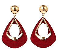 cheap -Women's Oversized Drop Earrings Front Back Earrings - Sexy Oversized For Party Gift