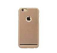 cheap -Case For Apple iPhone 6 iPhone 7 Ultra-thin Back Cover Solid Color Hard PC for iPhone X iPhone 8 Plus iPhone 8 iPhone 7 Plus iPhone 7