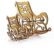 Недорогие -3D пазлы Пазлы Наборы для моделирования Модель дерева Игрушки Лошадь 3D Мода Семья Для детской Горячая распродажа Классика Мода Новый