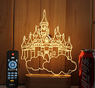 Недорогие -1 набор из 3-х сплошного дерева светодиодный светильник с подсветкой