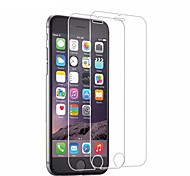 cheap -Screen Protector Apple for iPhone 6s iPhone 6 Tempered Glass 2 pcs Screen Protector Front Screen Protector Anti-Fingerprint Scratch Proof