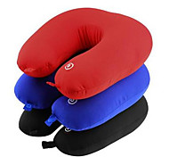 cheap -1Set Battery Vibrating Electric Pillow Travel Neck Shoulder Relax Massager Color