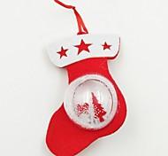 Недорогие -обувь пластиковый шар нетканой ткани рождественский орнамент