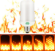 YWXLight® 1pc E27/E26 Flame Flickering Breathing General Modes Halloween Decoration LED Lights Bulb AC 220-240V