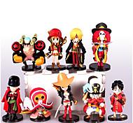 Недорогие -анимированные фигуры, вдохновленные одной частью обезьяны d. luffy pvc cm модель игрушки куклы игрушка