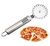 Недорогие -нержавеющая сталь пицца нож резцы колеса портативный торт ролик нож кухонные гаджеты 19,5 * 6 см