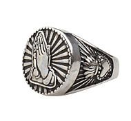 Men's Statement Rings Vintage Rock Hiphop Statement Jewelry Titanium Steel Jewelry Jewelry For Daily Casual