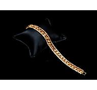 Women's Tennis Bracelet Cubic Zirconia Rhinestone Classic Elegant Cubic Zirconia Rhinestone Circle Jewelry For Wedding Evening Party