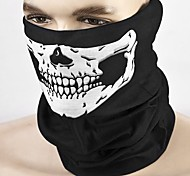 cheap -ZIQIAO Motorcycle Skull Face Mask Outdoor Sport Cycling Bike Motorbike Mask