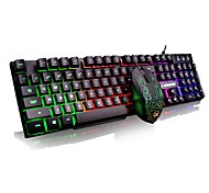 cheap -G160 MINI Wired Multicolor Backlit 104 Gaming Keyboard Backlit