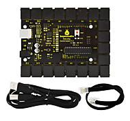 Недорогие -keyestudio easy plug основная плата управления v1.0 контроллер1шт телефонная линия 1шт usb для arduino