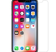 cheap -Screen Protector for Apple iPhone X Tempered Glass PET 1 pc Front Screen Protector High Definition (HD) 9H Hardness 2.5D Curved edge