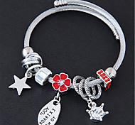 cheap -Women's Charm Bracelet Rhinestone Sweet Fashion European Alloy Flower Star Jewelry For Party Daily