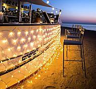 96 LEDs 1.5M x 1.5M LED Net String Light 8 Modes For Christmas Wedding Holiday Decoration