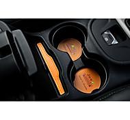 Automobile Porte-gobelet Panal Covers (avant) Gadgets d'Intérieur de Voiture Pour Jeep Toutes les Années Cherokee Cuir
