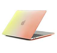 """Недорогие -MacBook Кейс для Матовое Градиент цвета Поликарбонат Новый MacBook Pro 15"""" / Новый MacBook Pro 13"""" / MacBook Pro, 15 дюймов"""
