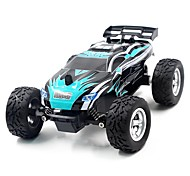 RC Auto K24-1 2.4G Truggy High-Speed 4WD Treibwagen Buggy SUV Monster Truck Bigfoot Rennauto 1:24 Bürster Elektromotor 45 KM / H