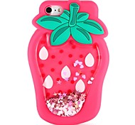cheap -Case For Apple iPhone X iPhone 8 iPhone 8 Plus iPhone 6 iPhone 6 Plus iPhone 7 Plus iPhone 7 DIY Back Cover Food Fruit 3D Cartoon Soft