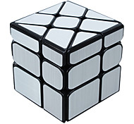 Недорогие -Кубик рубик Зеркальный куб 3*3*3 Спидкуб Кубики-головоломки головоломка Куб Глянцевый Квадратный Новый год День детей Подарок