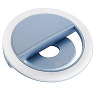 36 светодиодный зажим для перезаряжаемого сабвуфера для мобильного телефона с подсветкой для ночи или темноты с яркостью 3 уровня для