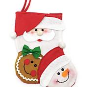 Недорогие -1шт Рождество Рождественские чулки, Праздничные украшения 22