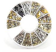 Недорогие -1 pcs Украшения для ногтей металлический / Мода Повседневные Дизайн ногтей