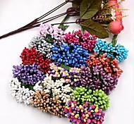 Недорогие -12pcs / lot шелковица сторона искусственный цветок stamen стебель провода / замужество выходит stamen