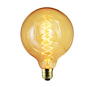 cheap -BriLight 1pc 40W E27 E26/E27 G125 Warm White K Incandescent Vintage Edison Light Bulb AC 110-130V AC 220-240V V