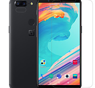 cheap -Screen Protector OnePlus for OnePlus 5T PET 1 pc Front Screen Protector Anti-Glare Anti-Fingerprint Scratch Proof Matte Ultra Thin