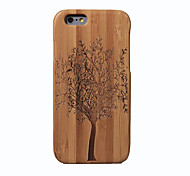 abordables -Coque Pour iPhone 6s iPhone 6 Apple iPhone 6 Antichoc Coque Arbre Dur Bambou pour iPhone 6s iPhone 6