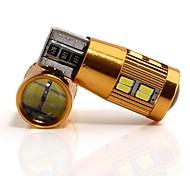 Недорогие -2pcs Лампы 4W SMD 4014 22 Внешние осветительные приборы For Универсальный Все модели Все года