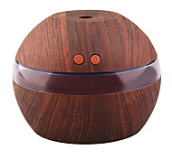 cheap -YK30S Mini Portable Mist Maker Aroma Essential Oil Diffuser Ultrasonic Aroma Humidifier Light Wooden USB Diffuser