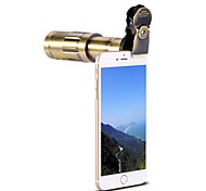 cheap -Mobile Phone Lens Long Focal Lens Aluminium Alloy 20X Macro 20mm 5m 75 High Definition