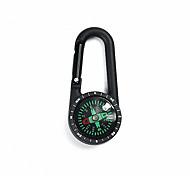 cheap -Compasses With Keychain Gold-Plated Directional Wearproof Camping / Hiking Camping / Hiking / Caving Trekking Metalic ABS cm pcs