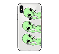 abordables -Funda Para Apple iPhone X iPhone 8 Plus iPhone 7 iPhone 6 Funda iPhone 5 Ultrafina Transparente Diseños Cubierta Trasera Caricatura Suave