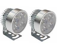 Недорогие -sencart универсальный 4 светодиодный фонарик для мотоциклов dc10-80v1000lm 6500k фара для велосипедов мотоциклы автомобили
