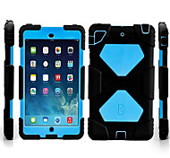 cheap -Case For Apple Card Holder Shockproof Water/Dirt/Shock Proof with Stand Full Body Cases Solid Color Hard Plastic for