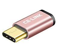 Недорогие -CE-Link USB 2.0 Адаптер, USB 2.0 to USB 3.0 Тип C Адаптер Male - Female Короткий (менее 20 см)