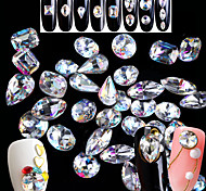 cheap -5pcs/set Tools & Accessories Rhinestones Nail Jewelry Nail Glitter Crystal Fashionable Jewelry Rhinestone Glitter & Sparkle Sparkle &