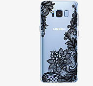 cheap -Case For Samsung Galaxy S8 Plus S8 Pattern Back Cover Lace Printing Soft TPU for S8 Plus S8 S7 edge S7 S6 edge plus S6 edge S6