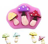 Недорогие -грибы формы торт плесень шоколад fondant 3d силиконовые формы diy выпечки инструменты сахар кружева плесень