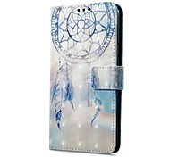 cheap -Case For Xiaomi Redmi Note 5A Redmi Note 4X Card Holder Wallet with Stand Flip Magnetic Pattern Dream Catcher Hard for