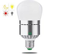 cheap -1pc 12W 1100-1200 lm E26/E27 LED Smart Bulbs T 24 leds SMD 2835 Smart Light Control Warm White Cold White AC 85-265V