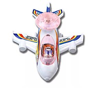 cheap -LED Lighting Model Building Kit Plane Toys Flat Shape Nautical Glow Lighting Soft Plastic Children's Pieces