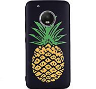 Недорогие -Кейс для Назначение Motorola G5 Plus G5 С узором Задняя крышка Фрукты Мягкий Силикон для Мото G5 Plus Moto G5 Мото G4 Plus Moto G4 Play