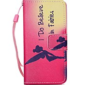cheap -Case For iTouch 5/6 Wallet Card Holder with Stand Pattern Auto Sleep/Wake Up Full Body Cases Hard