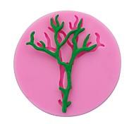 Недорогие -ветки саженцы дерево fondant шоколад силиконовая форма глина смола сахар конфеты торты украшения инструменты