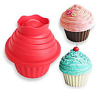 Недорогие -Формы для пирожных конфеты Для торта Cupcake Торты силикагель Своими руками Новый год День рождения Инструмент выпечки