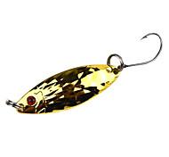 Недорогие -Рыболовный крючок с рыбой-образный металлические приманки (3 г, 5 г)
