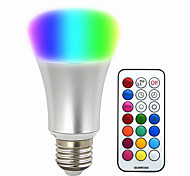 abordables -580-700lm E26 / E27 Bombillas LED Inteligentes BR 30 Cuentas LED SMD 5050 Regulable Decorativa Control Remoto RGB 220-240V